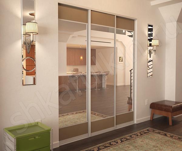 Встроенный небольшой шкаф-купе в комнату бионди: фото, разме.