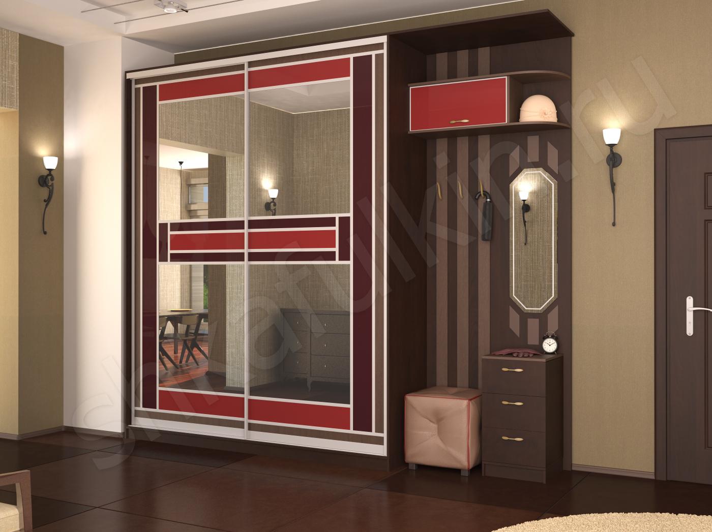 Мебель для маленькой прихожей модерн: фото, размеры.
